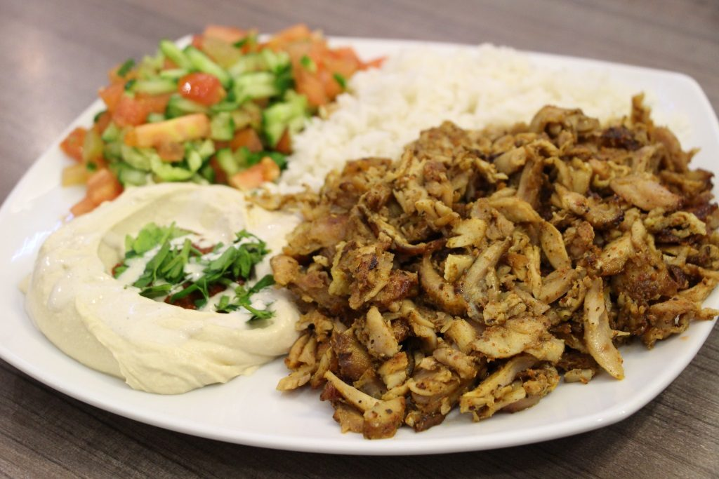 Shawarma Israel's food  - Middle Eastern meat