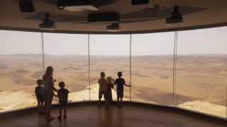 mitzpe ramon ramon crater negev desert