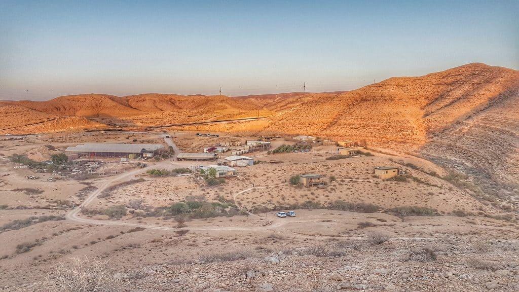 Naot Farm - Sdeh Boker - The world's first desert capsule hotel