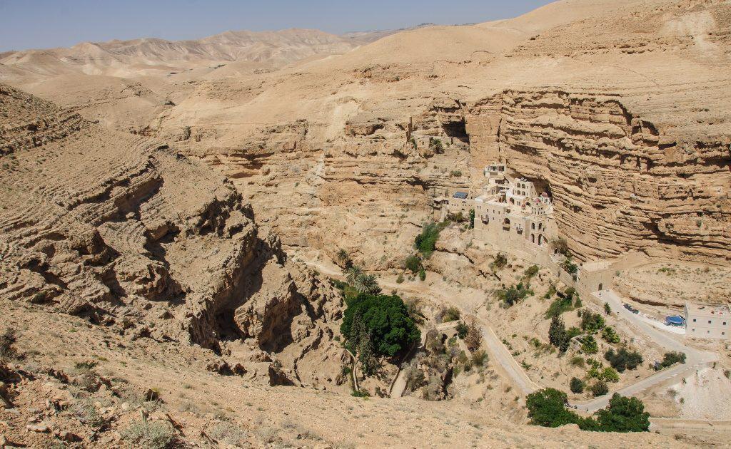 Saint George Monastery, Wadi Qelt, Judean Desert, Israel St. George's