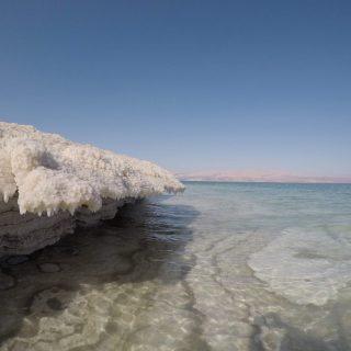 Dragot Cliffs Beach dead sea